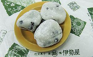 矢口渡にある伊勢屋では豆大福・豆餅が評判です♪【おおたの逸品 2012】