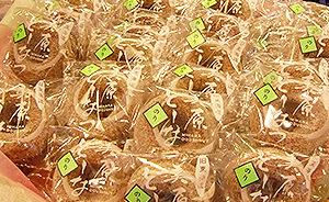 和菓子に使う素材を生かしながら、さっぱりした食感の焼きドーナツ【おおたの逸品 2013】