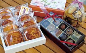 地元で有名なケーキ屋さんは、有名人のお客さんも多いとか。