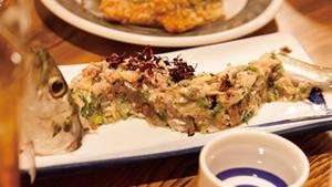 新鮮さが命の「いわし料理」を存分に [Super-fresh sardine cuisine]