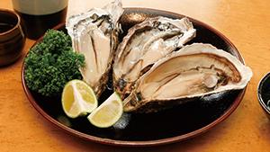 元魚屋が仕入れる生牡蠣と新鮮魚介 [A famous spot for raw oysters]