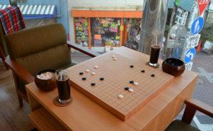 【長原】初心者歓迎、カフェだけの利用OK、囲碁を通じて〝楽しいコト〟を広めたい