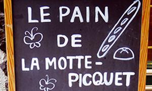 [美味しいパンが食べたーい!]  《長原》LA MOTTE-PICQUET ラ・モトピケ