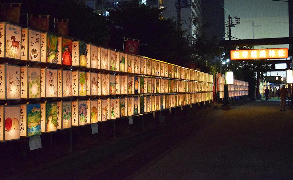 [穴守稲荷]2020年8月28日(金)、29日(土)、境内を1,000の行灯が埋め尽くす献灯祭を開催
