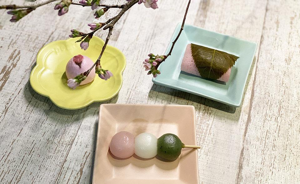 桜の名所と春の和菓子をめぐる