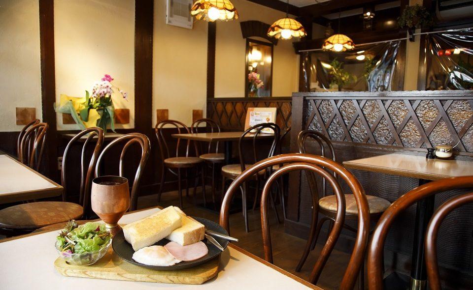 大田区のモーニング3選。目覚めのコーヒーとおいしい朝ご飯を目指して、レトロ喫茶へ